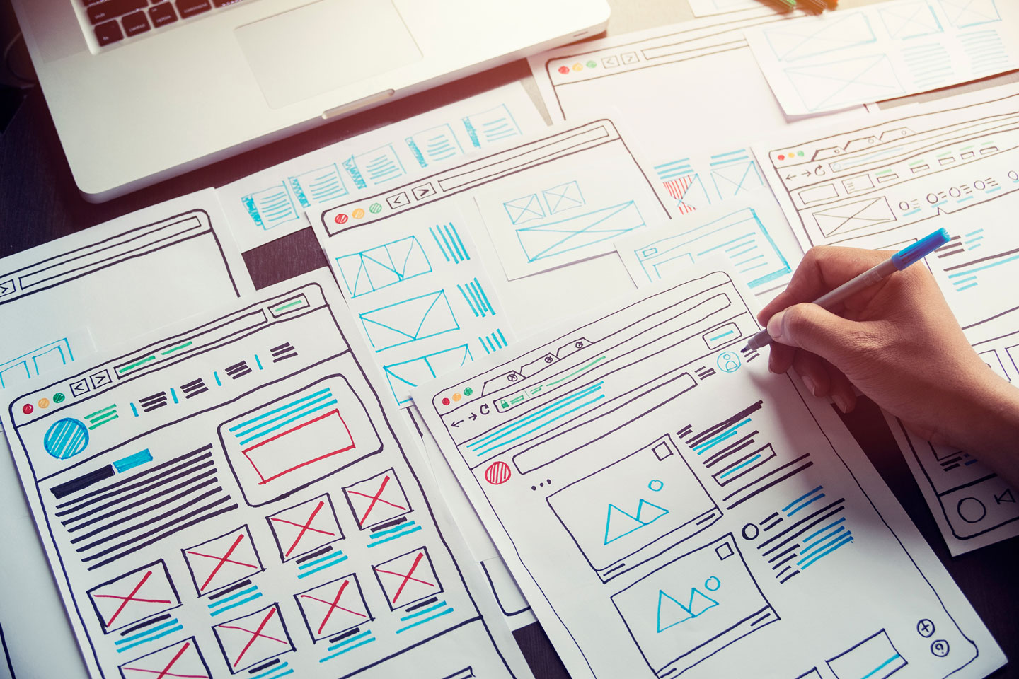Your web developer should focus on a good user experience